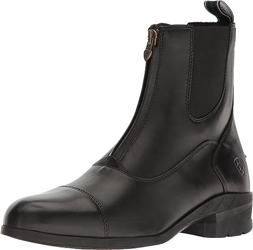 Ariat - Chaussures anglaises Heritage Iv Iv Zip Paddock pour Hommes, 47 M EU, noir  juste pour toi