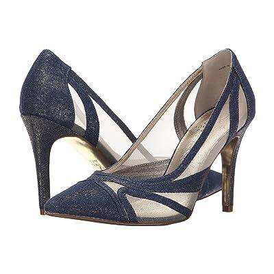 Adrianna Papell Amal (Platino Wash Zinc Denim) High Heels