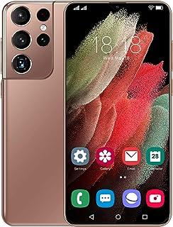 HJFGIRL Telefon komórkowy z systemem Android 10, S21Ultra 5G smartfon odblokowany, Dual SIM, 12 GB + 512 GB, 6,7-calowy pe...