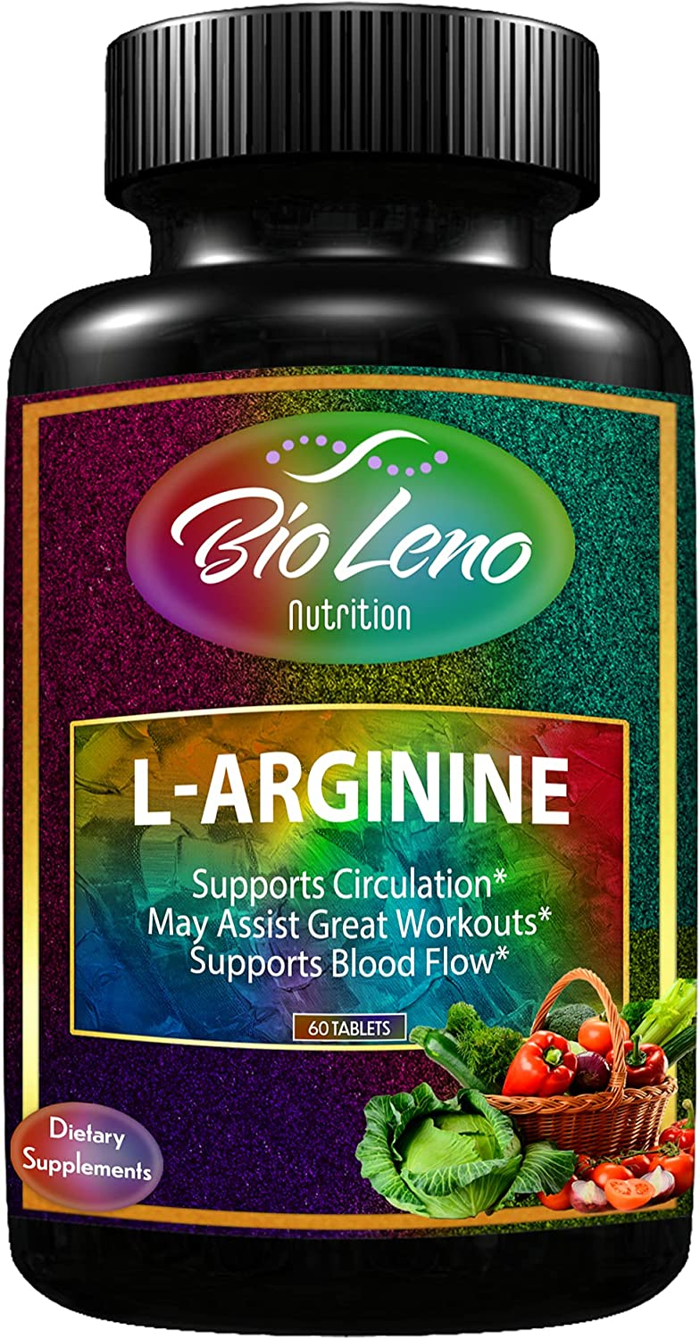 Bioleno L-Arginine Supplement for Fixed price Year-end gift sale Protein Oxid Building Nitric