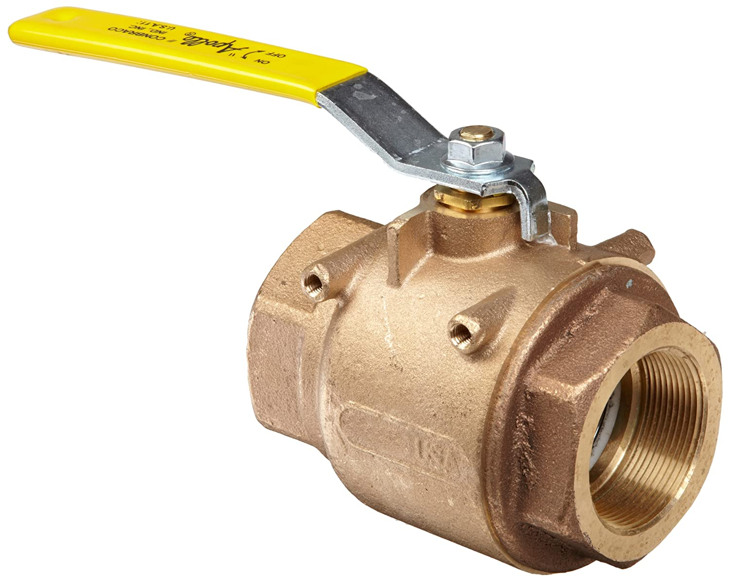 Apollo 77-100 Cash special price Series Bronze Ball Indianapolis Mall Pa Mounting Valve with Actuator