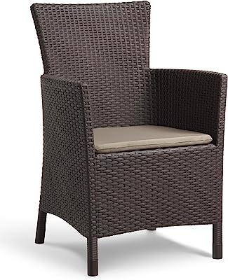 Keter Iowa–Garden Armchair 60x62x89 cm brown