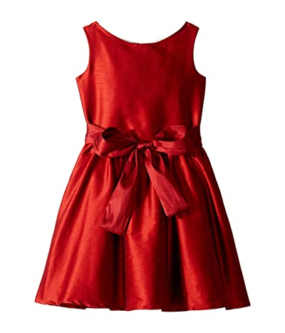 fiveloaves twofish Holiday Lola Party Dress (Big Kids) (Red) Girl