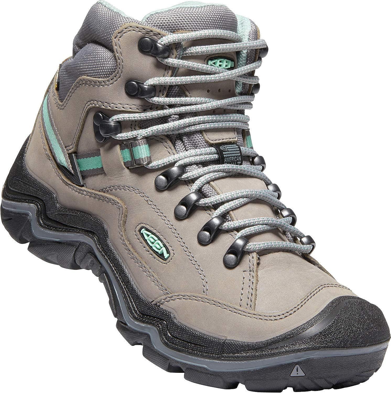 KEEN - Woherren Durand II Mid WP, Waterproof Hiking Hiking Hiking Stiefel, grau Flannel Steel grau, 5 M US d33