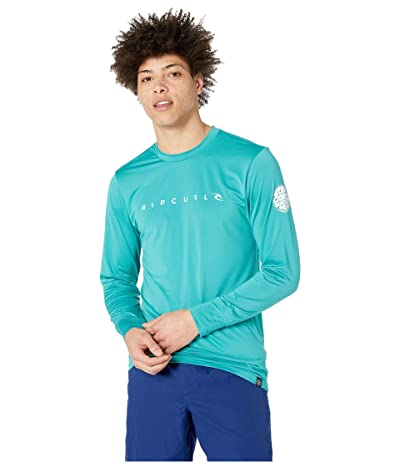 Rip Curl Dawn Patrol Surf Tee Long Sleeve (Teal) Men