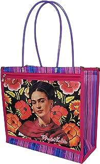 Bolsa Artesanal Mexicana hecha de Malla Plástica 37