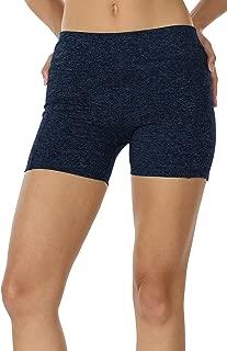Workout Running Shorts for Women - Yoga Exercise Athletic Shorts Capris