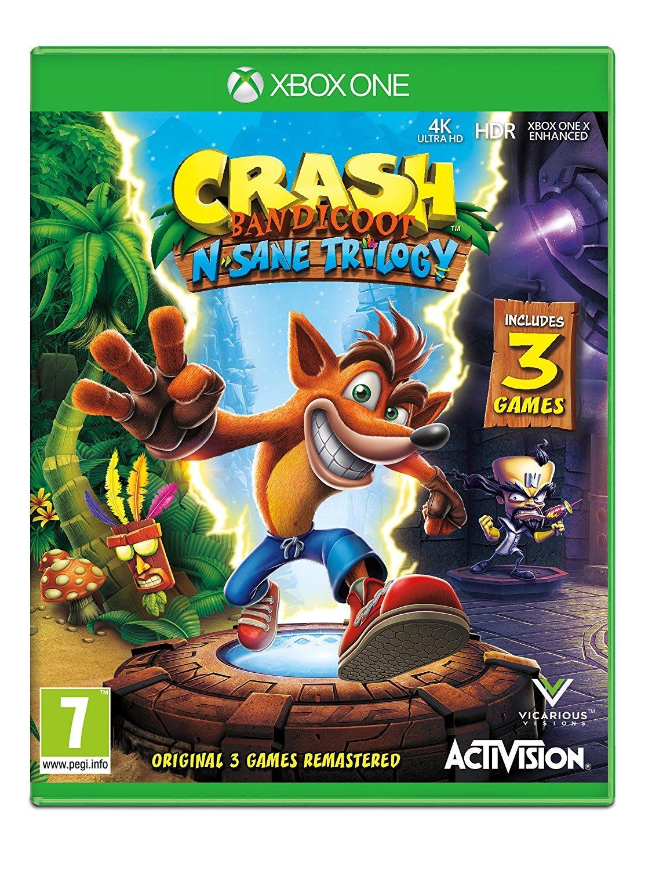 Crash Bandicoot - Xbox One [Importación italiana]: Amazon.es: Videojuegos