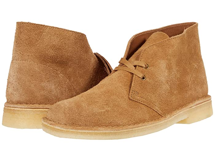 60s Mens Shoes | 70s Mens shoes – Platforms, Boots Clarks Desert Boot Nutmeg Suede Mens Lace-up Boots $149.95 AT vintagedancer.com