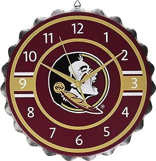 FOCO NCAA Unisex Bottlecap Clock