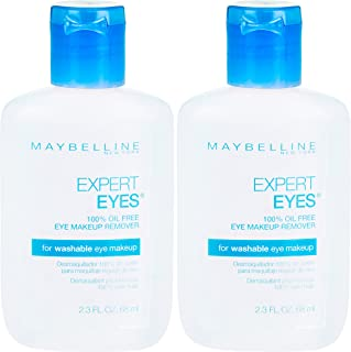 Maybelline New York Expert Eyes Oil-free Eye Makeup Remover, 2 Count