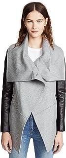 Mackage Women's Vane Wool Jacket, Light Grey, X-Small