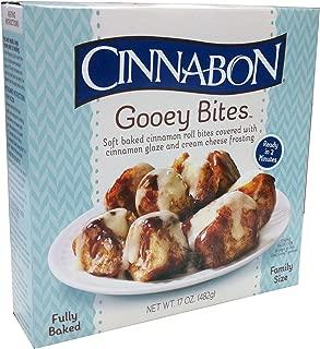 Cinnabon Gooey Bites, 17 oz, (pack of 8)