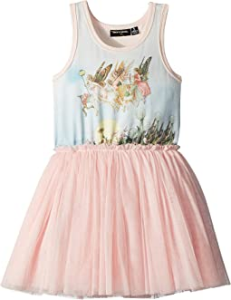 Rock Your Baby - Moonlight Fairies Singlet Circus Dress (Toddler/Little Kids/Big Kids)