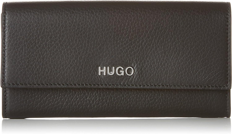 HUGO Mayfair Continental, Women's Wallet, Black, 1.5x10x19 cm (B x H T)