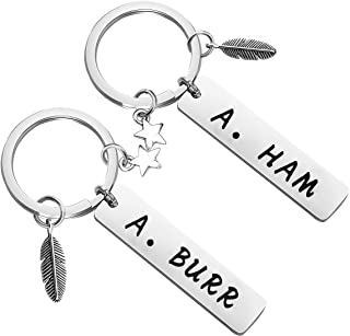 MAOFAED A. Ham A. Burr Alexander Hamilton Broadway Musical Inspired Gift Friendship Gift Aaron Burr Musical Theatre Gift