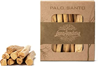Luna Sundara Palo Santo Smudging Sticks High Resin Palo Santo from Ecuador - Wild Harvested Smudging Sticks