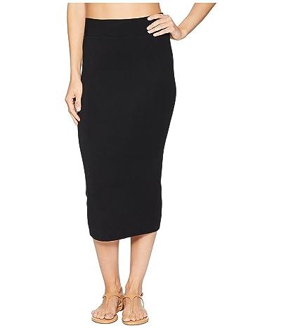 Hard Tail Middy Skirt (Black) Women