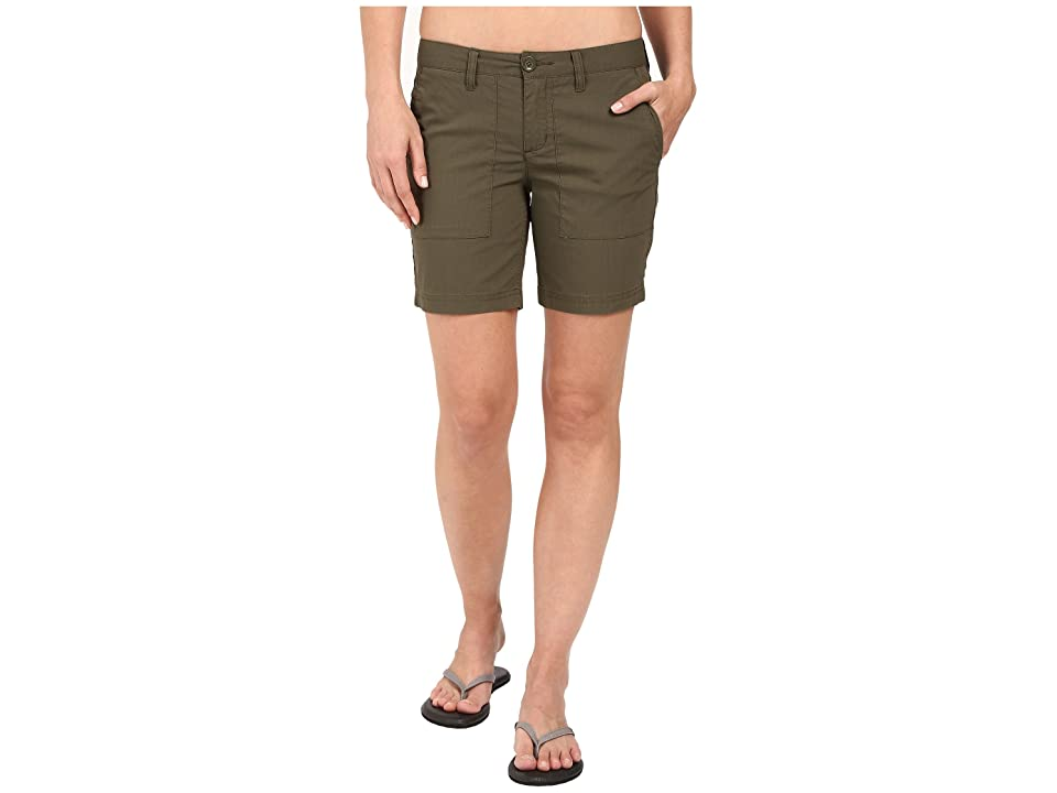 Toad&Co Bristlecone Shorts (Dark Moss) Women