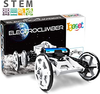 Science STEM Kit For Girls And Boys, Great Car Toy Project For Kids, Building Science Kit For Boys and Girls 8 9 10 11 12 Years Old. Build And Play, 4WD Climber Vehicle DIY Assembly Circuit Toy