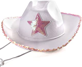 c8d78b22128 Cowboy Hat for Women - Cowgirl Hat - Cowgirl Costume Hat - by Funny Party  Hats