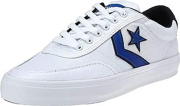 حذاء Converse Converse Courtlandt Ox أبيض/أزرق/Wh، حذاء رجالي، أبيض (أبيض فاتح)، 10 المملكة المتحدة (44)