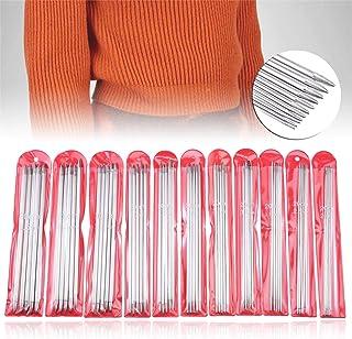 編み針セット 55本セット 11サイズ 編み棒 棒針 2mm~6.5mm 編み針 手あみ針 セーター 靴下 マフラー 小物 編み物 手芸用品