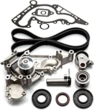 SCITOO TBK298WPT Timing Belt Kit Water Pump Fits 98-09 Lexus Toyota Tundra 4Runner Sequoia 4.7L 2UZFE