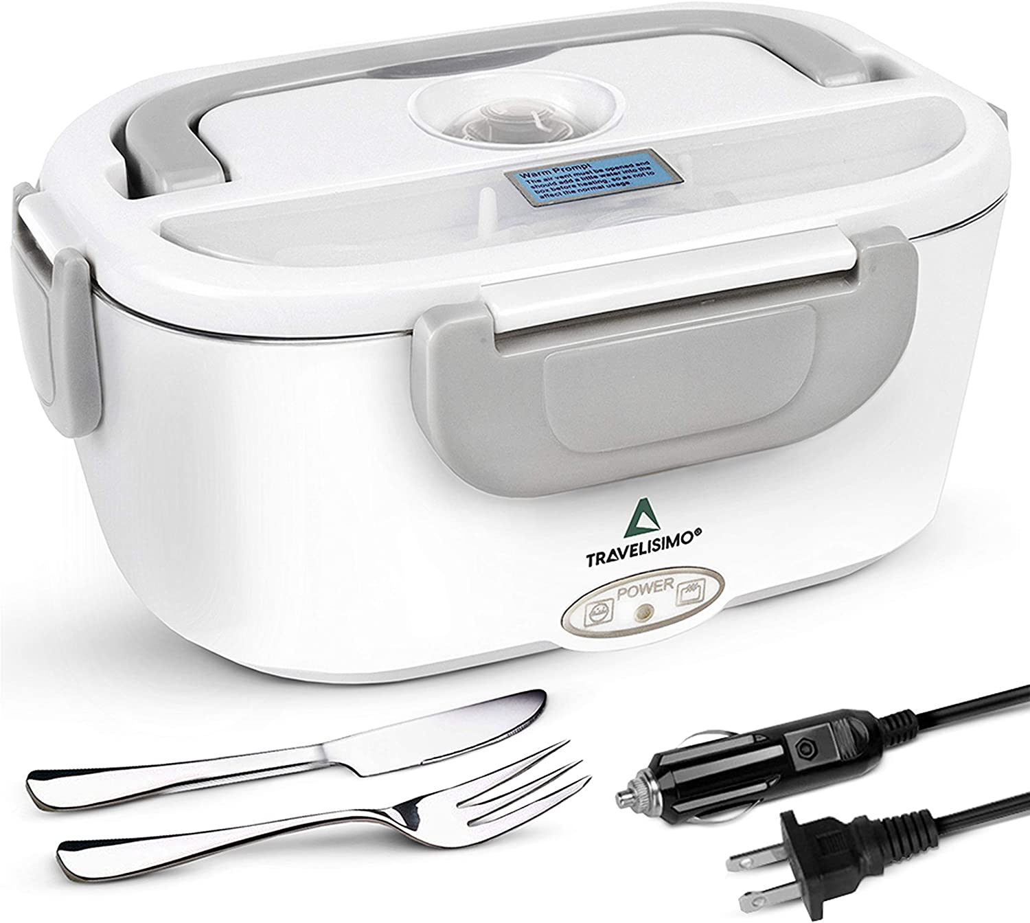 TRAVELISIMO Electric Lunch Special Campaign Box 2 in Cheap bargain 1 Food for Warmer - Portable