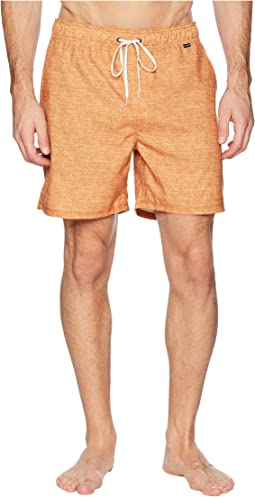 """Heather Volley Shorts 17"""""""