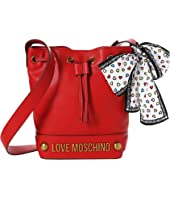 LOVE Moschino - Bucket Bag w/ Love Moschino Scarf