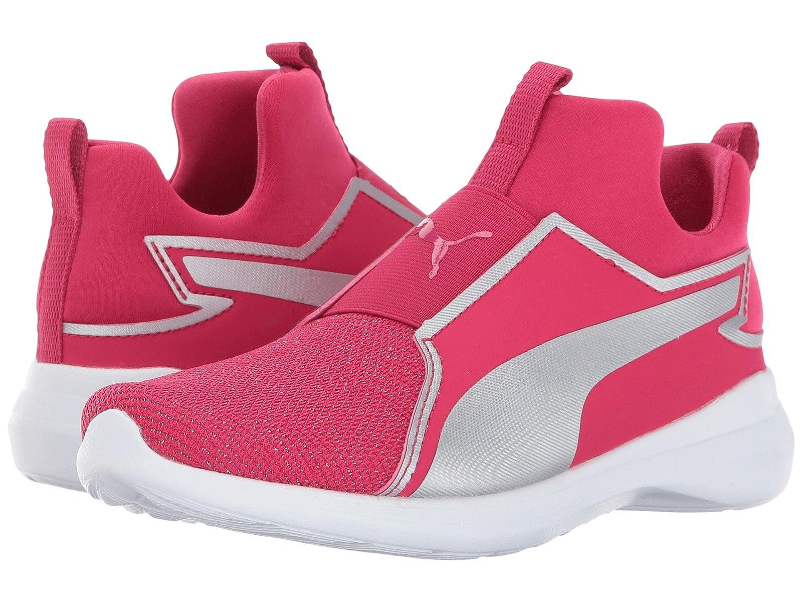Puma Kids Rebel Mid Gleam (Little Kid/Big Kid)Cheap and distinctive eye-catching shoes
