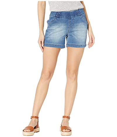 Jag Jeans 5 Gracie Pull-On Shorts in Denim (Horizon Blue) Women