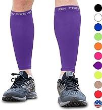 آستین فشرده سازی گوساله - جوراب های فشرده سازی ساق پا برای شکاف شین ، تسکین درد گوساله - آقایان ، زنان و دوندگان - نگهبان گوساله برای دویدن ، دوچرخه سواری ، زایمان ، مسافرت ، پرستار