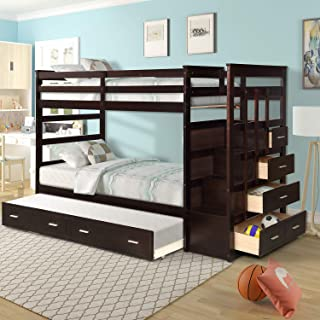 Best trundle bunk bed with stairs Reviews