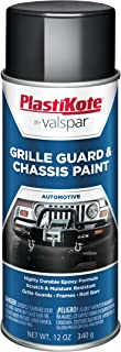 PlastiKote 193 Gloss Black Chassis and Grille Guard Paint - 12 Oz.