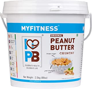 MYFITNESS Original Peanut Butter Crunchy 2.5 kg