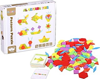 AL OSTOURA Educational Toys Wooden Puzzle of Pattern