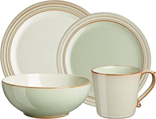 Denby USA Heritage 4 Piece Orchard Place setting Dinnerware Set, Multicolor