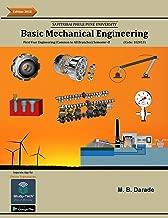 Basic Mechanical Engineering: As per new credit system syllabus of Savitribai Phule Pune University, Pune