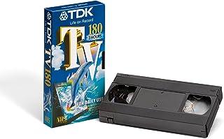 TDK TV 180VHS cinta de video (5Pack) Everyday 8PB 192pp