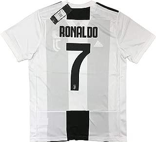 New 2018-2019 Ronaldo #7 Juventus Men's Home Jersey (Medium)