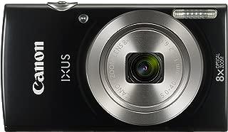 Canon Ixus 185 Fotoğraf Makinesi, Full HD (1080p), Siyah, 2 Yıl Canon Eurasia Garantili