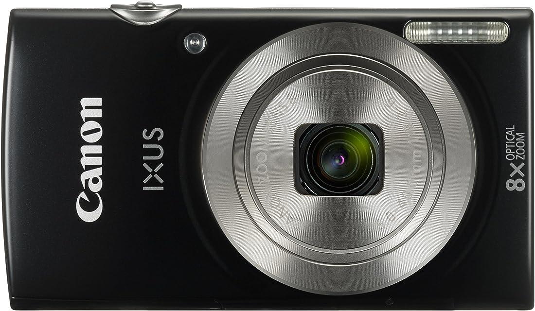 Canon IXUS 185 - Cámara compacta de 20 MP (pantalla de 2.7 Digic 4+ 16x ZoomPlus vídeo HD modo Smart Auto Date Button Easy Auto) negro
