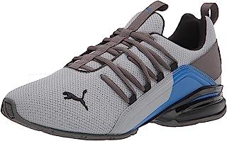 PUMA Men's 19497903 Running Shoe, Quarry Black-Castlerock, 10.5