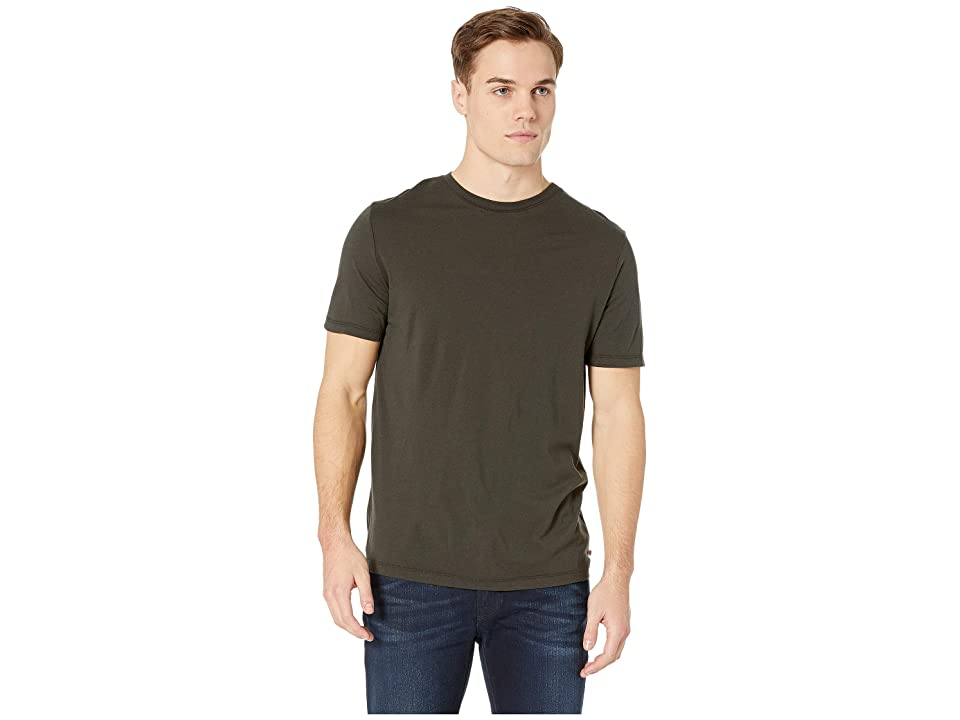 Image of AG Adriano Goldschmied Bryce Crew Short Sleeve Tee (Grey Stone) Men's T Shirt