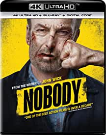 NOBODY starring Bob Odenkirk debuts on Digital June 8 and on 4K, Blu-ray, DVD June 22 from Universal