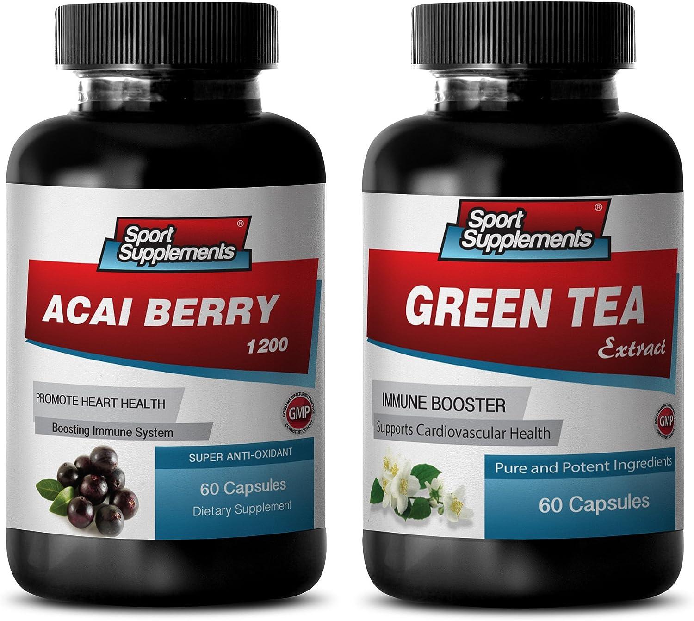 Fat Loss Protein - Popular standard ACAI Free shipping Green Ex Berry Combo Tea