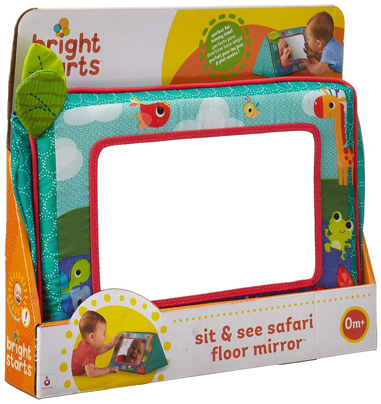 Bright Starts Sit and See Floor Mirror, Safari