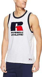 Russell Athletic Men's Eagle R Ringer Tank, Ash